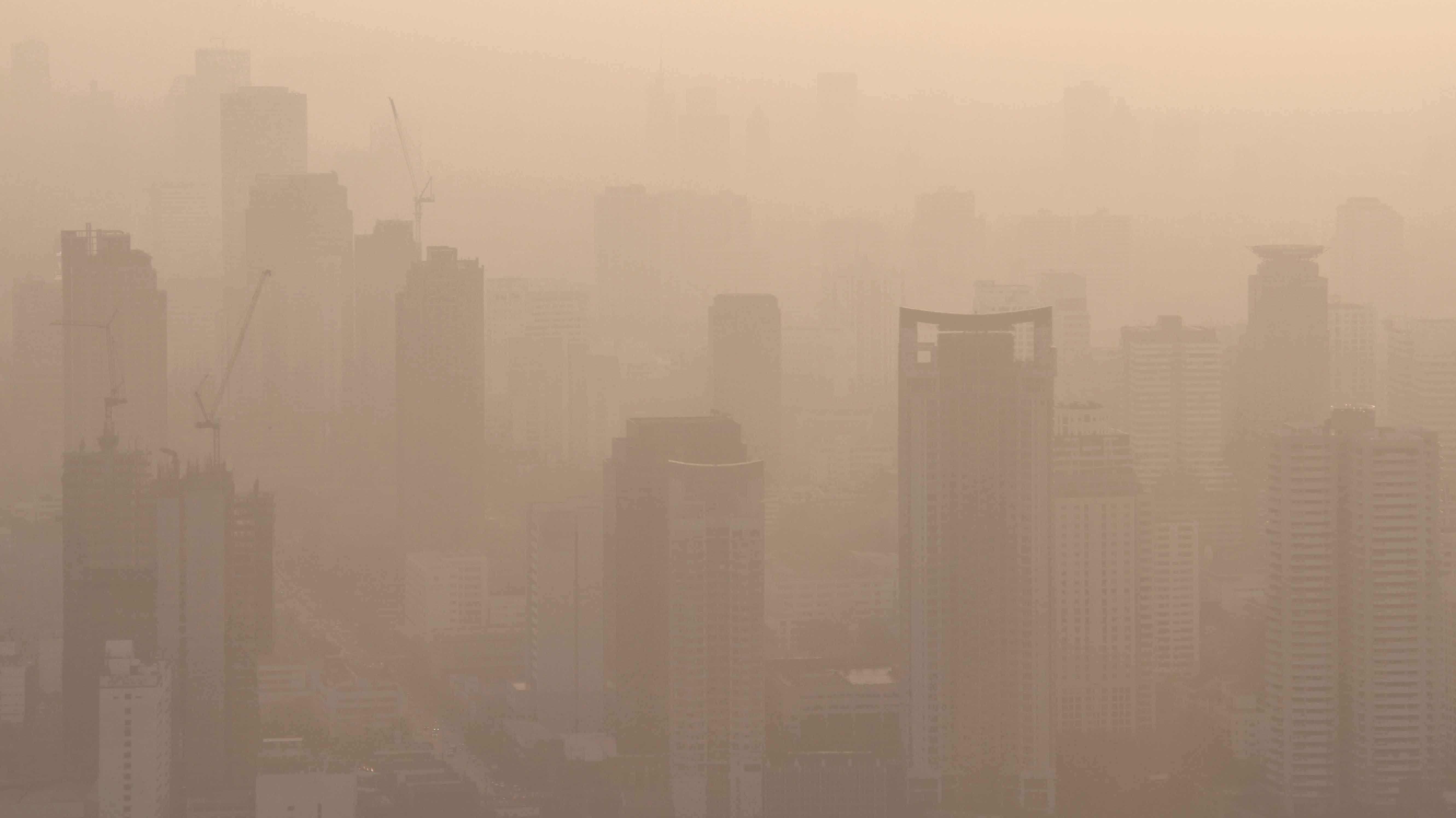 ฝุ่น ควัน มลพิษทางอากาศ