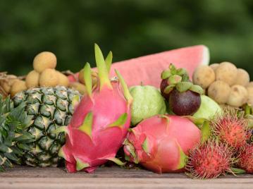 ผลไม้ไทย มีดีไม่แพ้ใคร
