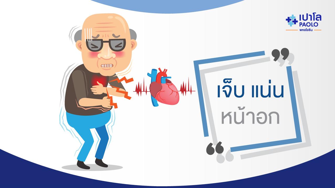 เจ็บแน่นหน้าอก ใจสั่น เสี่ยงโรคหัวใจ