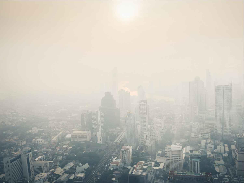 ฝุ่น ควัน มลพิษทางอากาศ ทำจมูกอักเสบภูมิแพ้ ไซนัสอักเสบกำเริบ