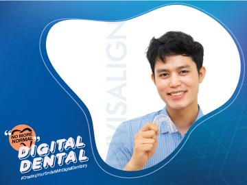 จัดฟันใส ระบบดิจิตอล