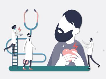 """โปรแกรมตรวจคัดกรองโรคหัวใจ กลุ่มเสี่ยง """"แน่นหน้าอก"""""""